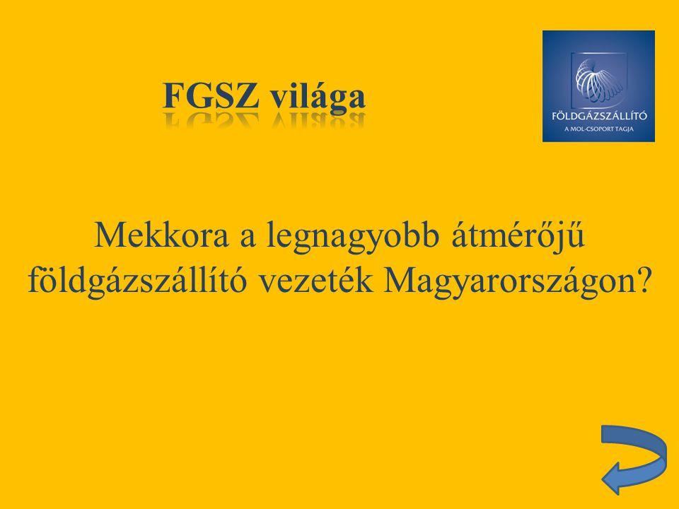 Hol található az FGSZ Rendszerirányító Központja?