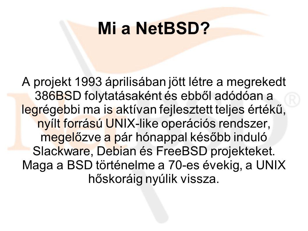 Mi a NetBSD.