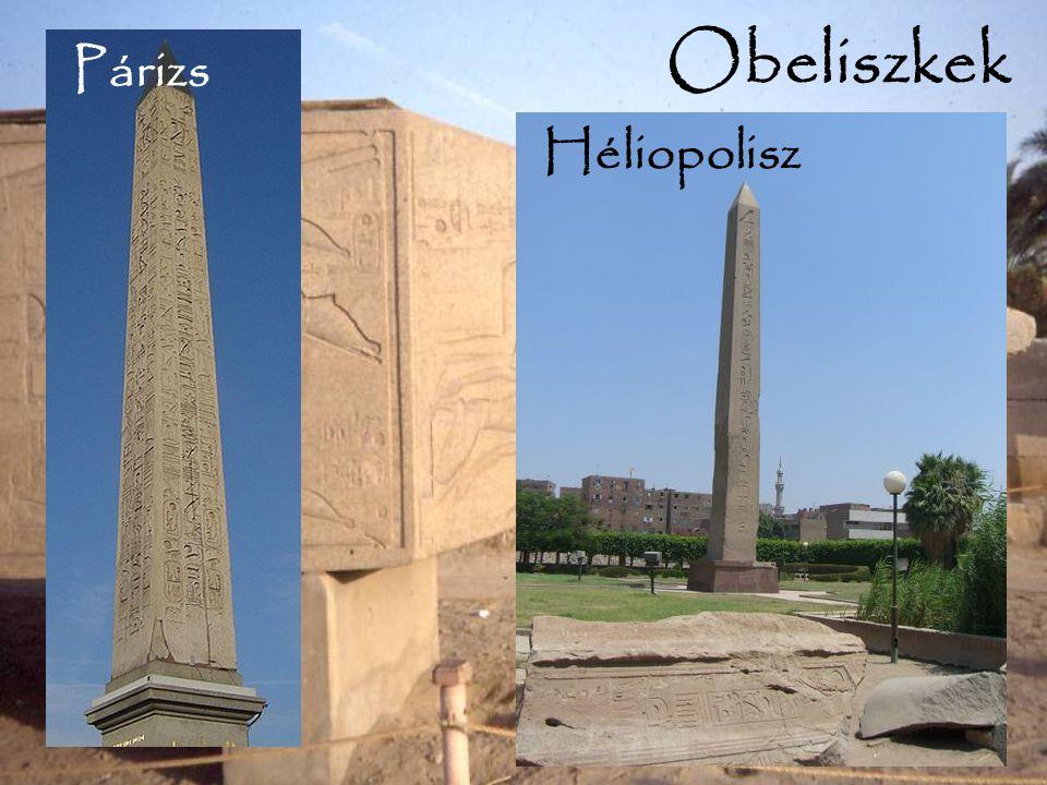 Obeliszkek Héliopolisz Párizs