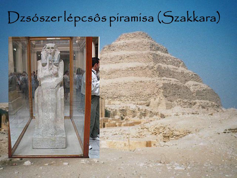 Dzsószer lépcsôs piramisa (Szakkara)