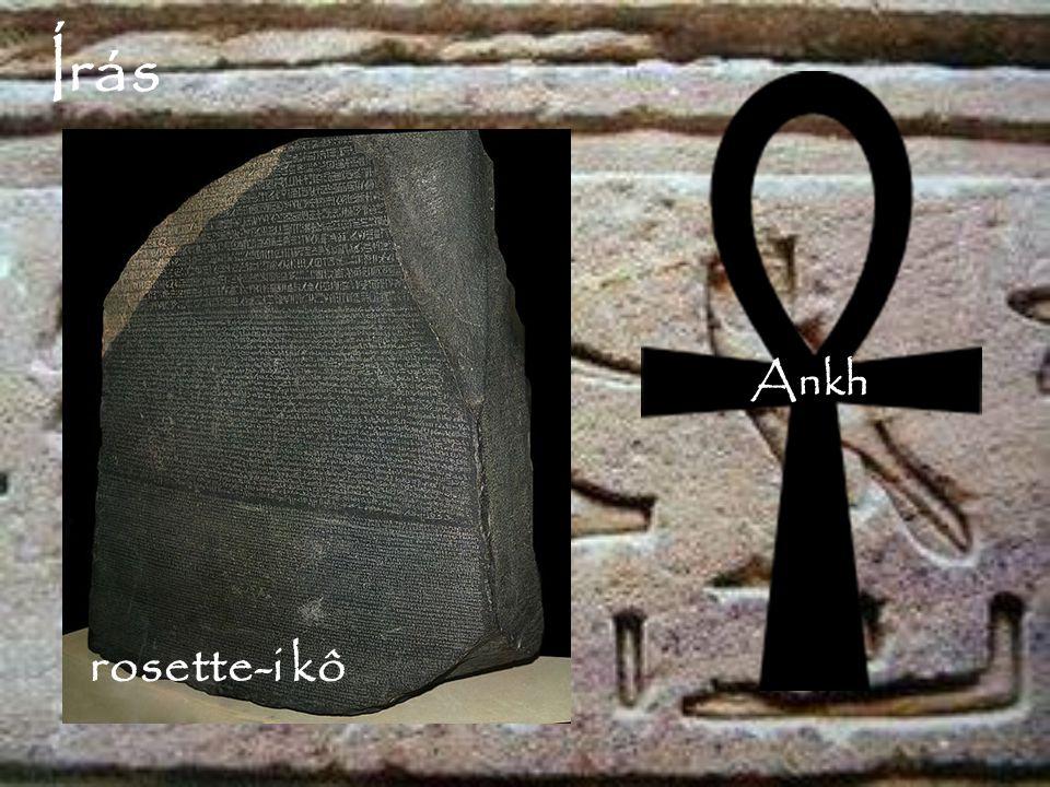 Írás Ankh rosette-i kô