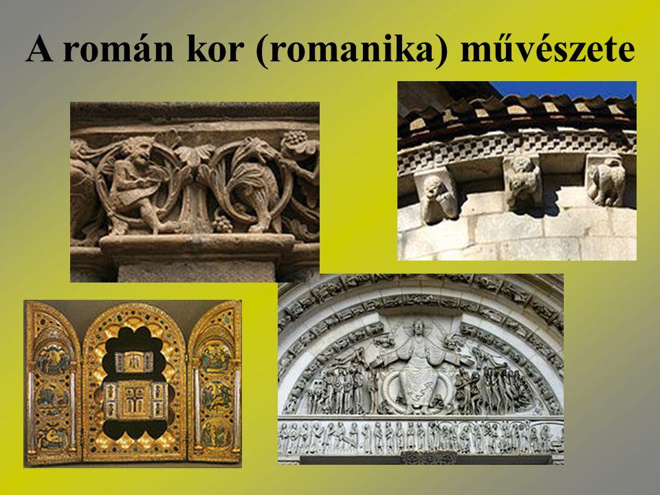 Háttér: - a római hagyományokat átörökítette a korai keresztény építészet - a stílus szülőhazája: Franciaország és Németország - innen terjedt tovább Nyugat- és Közép-Európába - kezdetek: 10.