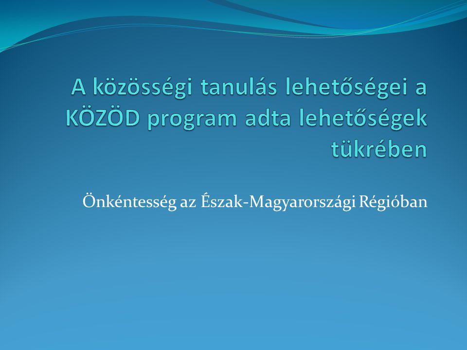 Önkéntesség az Észak-Magyarországi Régióban