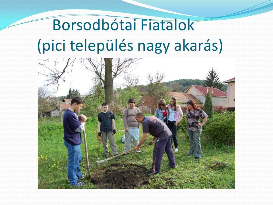 Borsodbótai Fiatalok (pici település nagy akarás)
