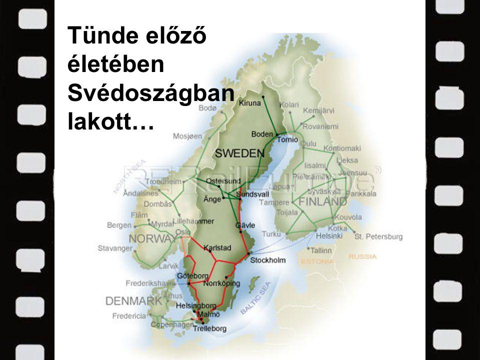 Tünde előző életében Svédoszágban lakott…