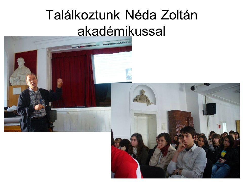 Találkoztunk Néda Zoltán akadémikussal
