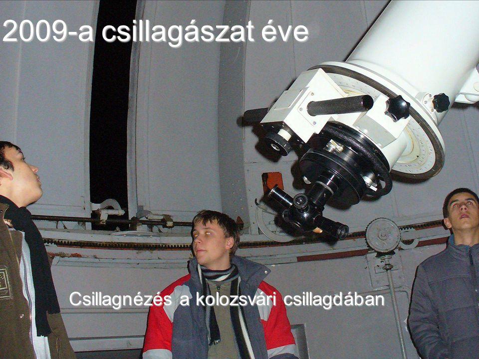 Csillagászat a Báthory napokon a IV. osztályban 2009 április