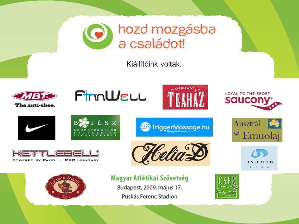 Köszönjük támogatóinknak, hogy hozzájárultak a rendezvény sikeréhez! Találkozunk 2010-ben!