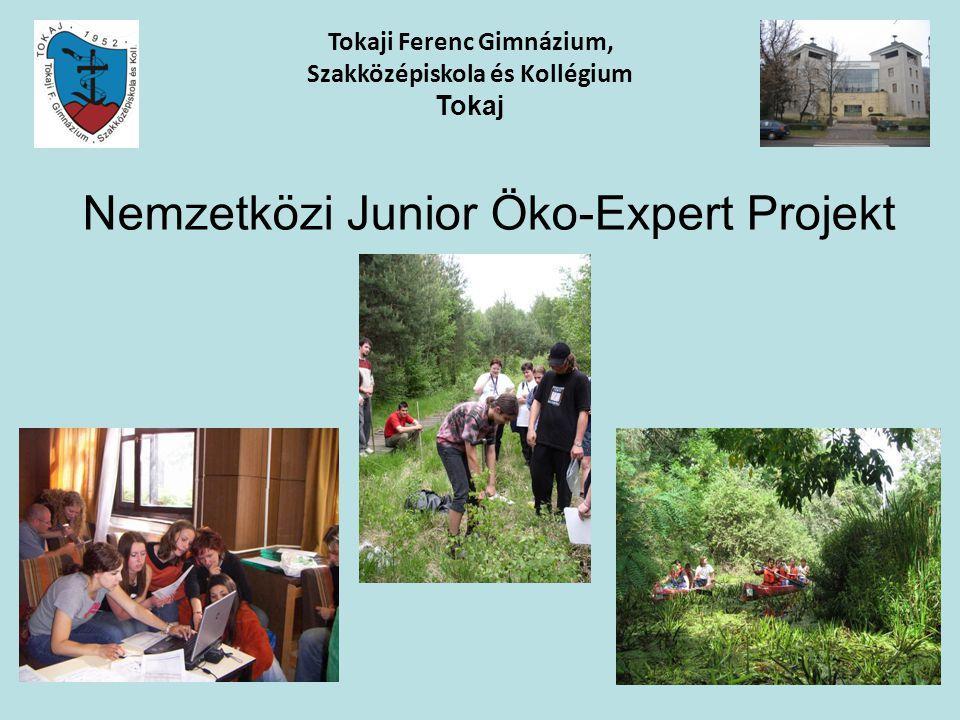 Nemzetközi Junior Öko-Expert Projekt Tokaji Ferenc Gimnázium, Szakközépiskola és Kollégium Tokaj