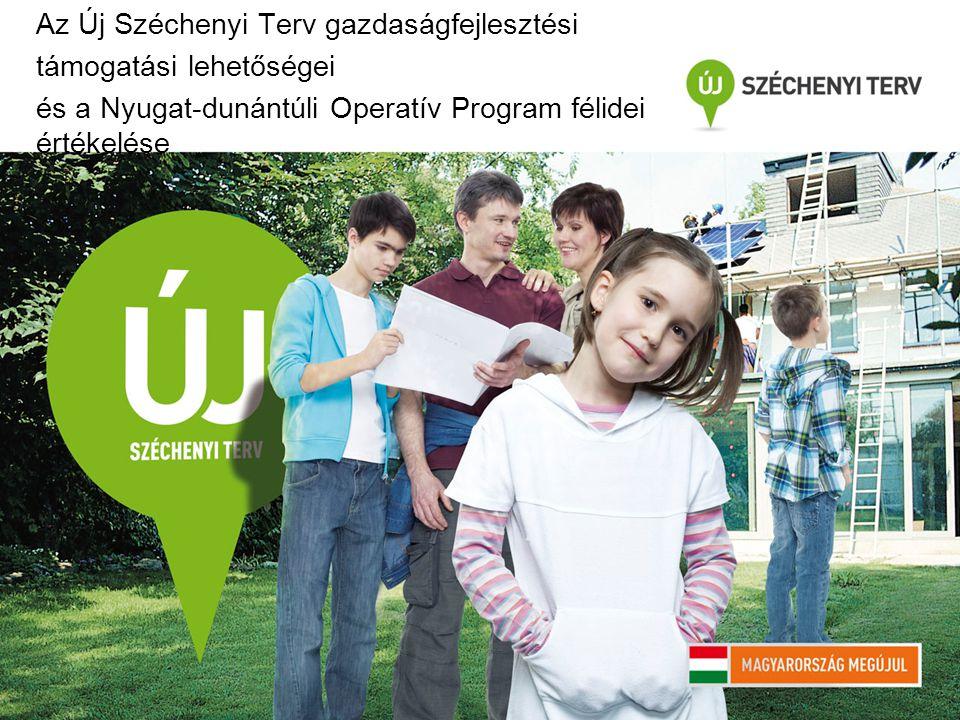 Az Új Széchenyi Terv gazdaságfejlesztési támogatási lehetőségei és a Nyugat-dunántúli Operatív Program félidei értékelése