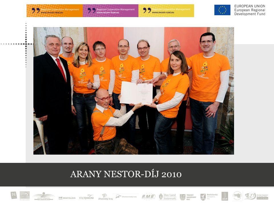 ARANY NESTOR-DÍJ 2010