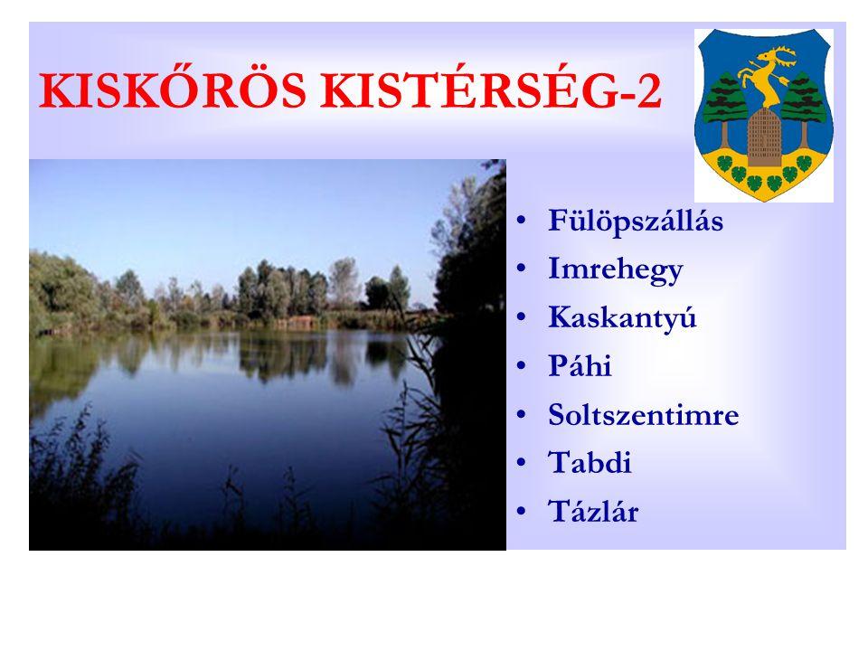 KISKŐRÖS KISTÉRSÉG-2 Fülöpszállás Imrehegy Kaskantyú Páhi Soltszentimre Tabdi Tázlár