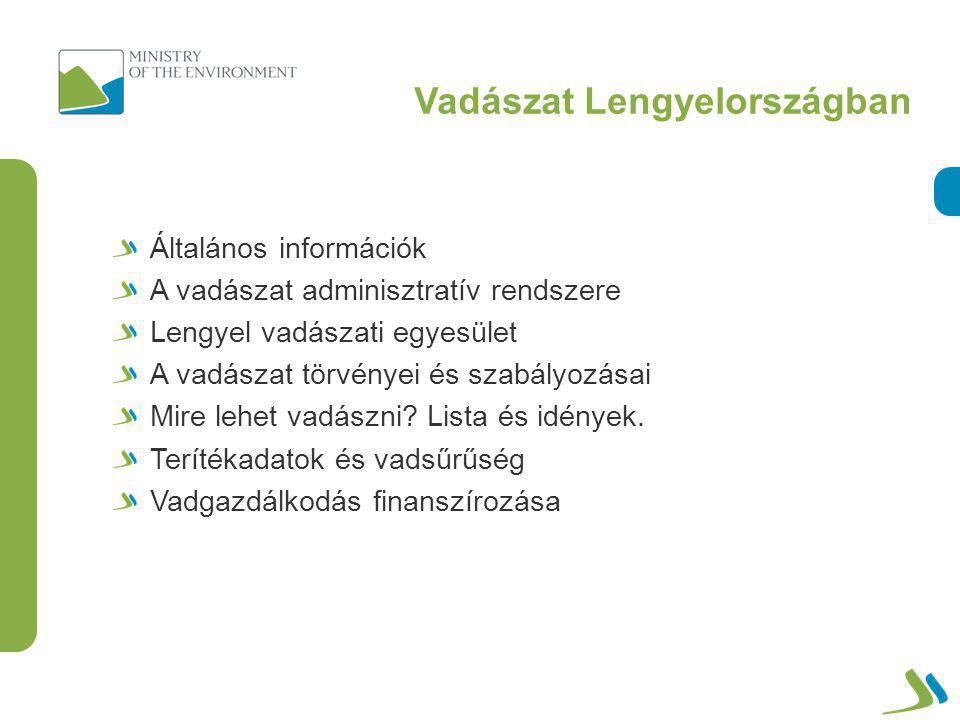 Fő lengyel vadfajok terítékstatisztikája Populáció és elejtés 2000–2010 – nagyvad (ezer db.) MuflonVaddisznó
