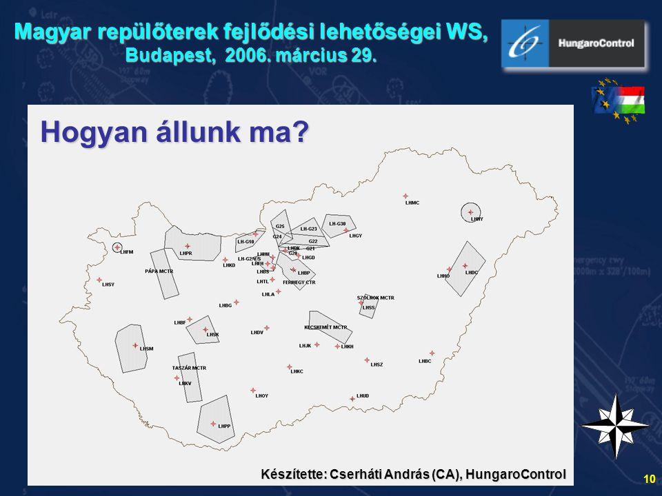 11 Digitális térképfotó????.A Magyar Köztársaság Légiforgalmi térképe (az un.