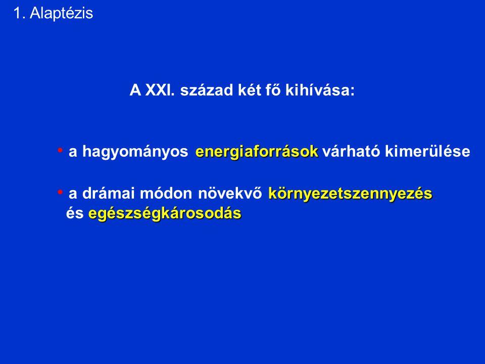 1. Alaptézis A XXI.