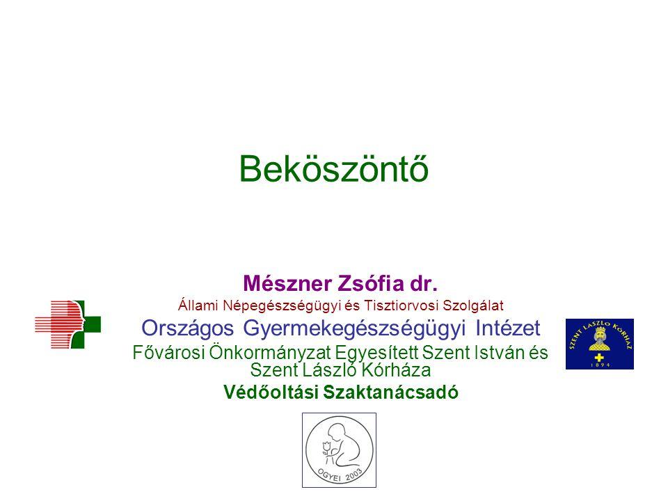 Beköszöntő Mészner Zsófia dr.