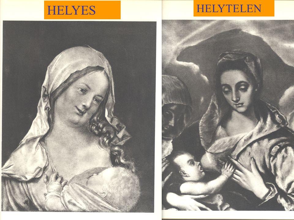 HELYES HELYTELEN