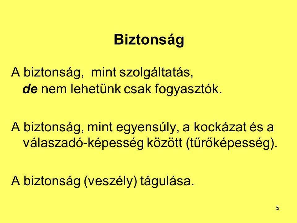 A katasztrófa fogalma Görög, jelentése: fordulat, pusztulás, megsemmisülés, csapás, megrázó, hirtelen esemény Magyar Értelmező Kéziszótár: nagyarányú szerencsétlenség, sorscsapás 26