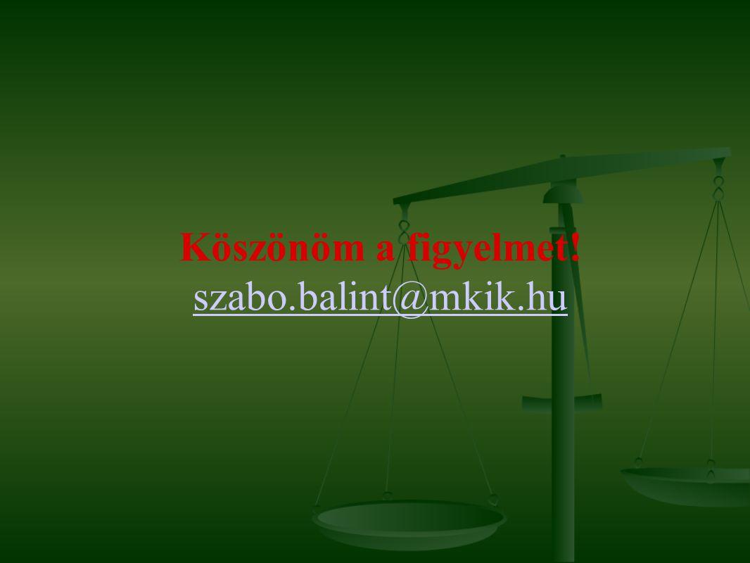 Köszönöm a figyelmet! szabo.balint@mkik.hu szabo.balint@mkik.hu