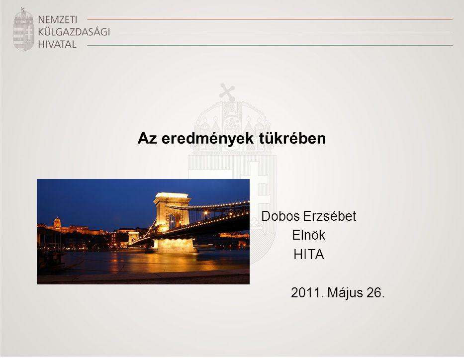 Dobos Erzsébet Elnök HITA 2011. Május 26. Az eredmények tükrében