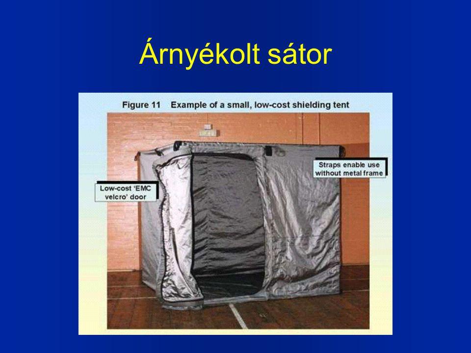 Árnyékolt sátor