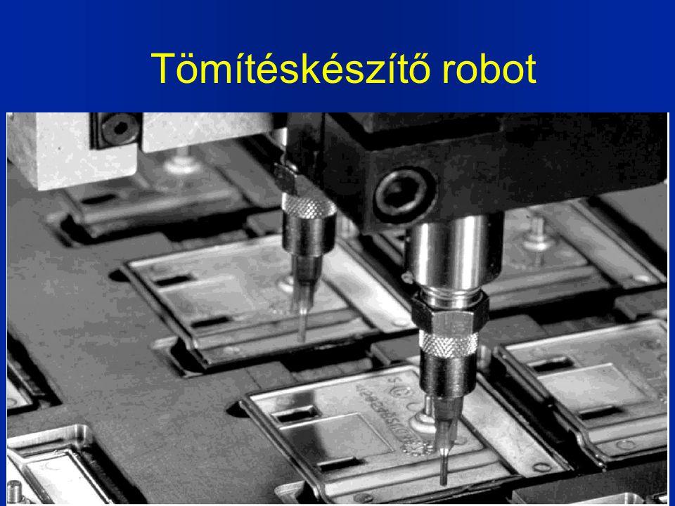Tömítéskészítő robot