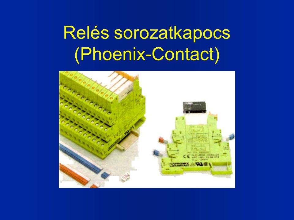 Relés sorozatkapocs (Phoenix-Contact)
