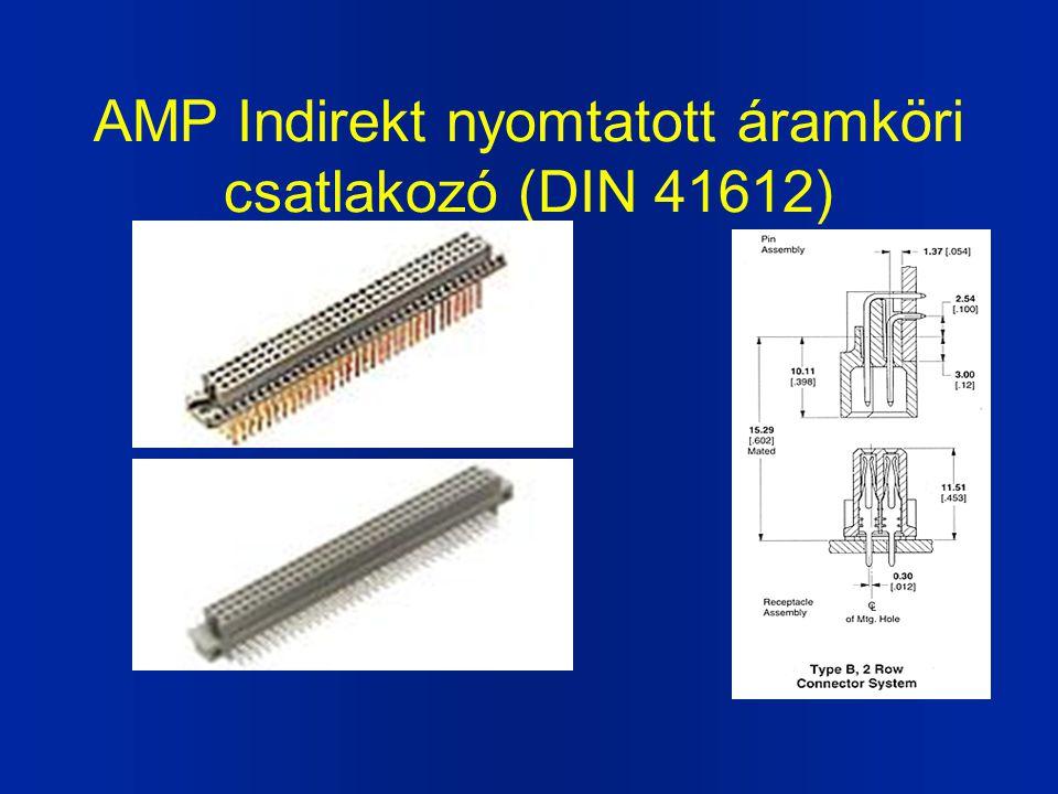 AMP Indirekt nyomtatott áramköri csatlakozó (DIN 41612)