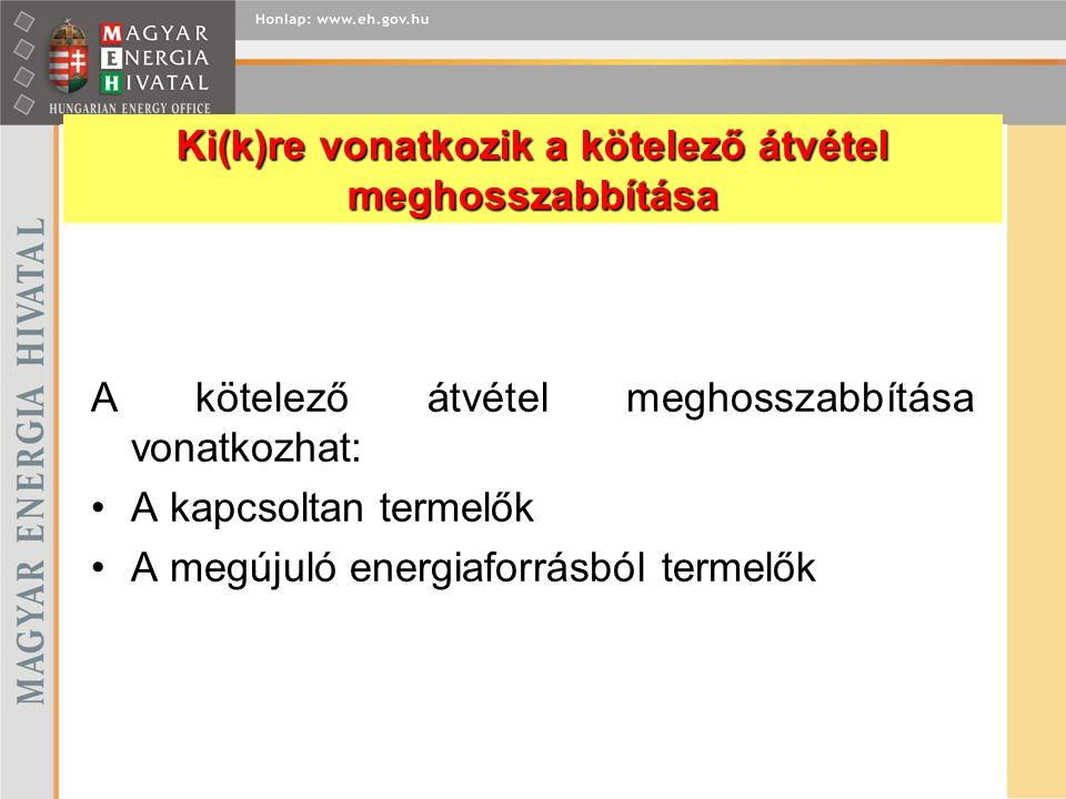 171.§ (5) A villamos energiáról szóló 2001.évi CX.