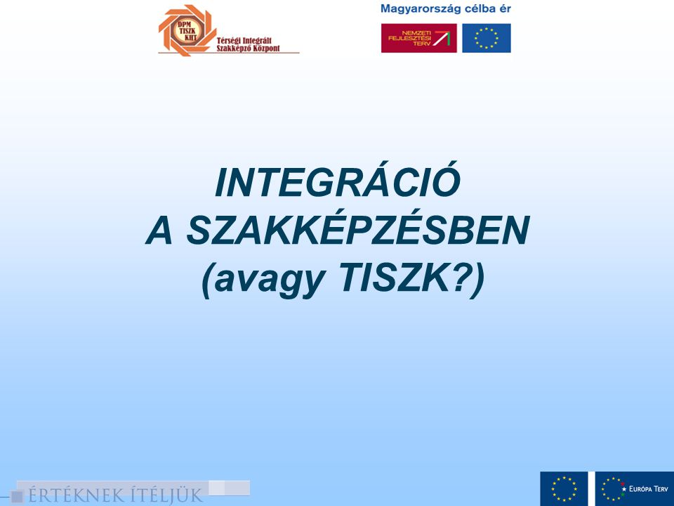 A Dél-Pest Megyei Térségi Integrált Szakképző Központ (DPM TISZK) Kht.