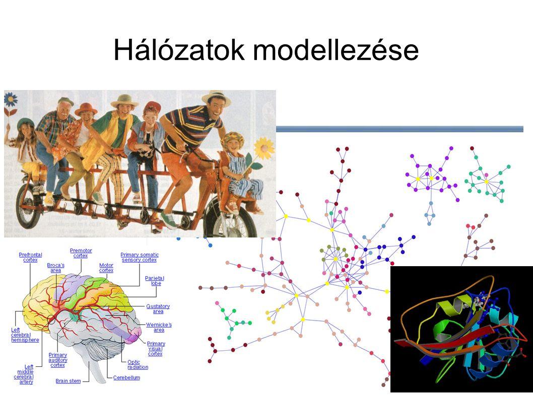 Hálózatok modellezése