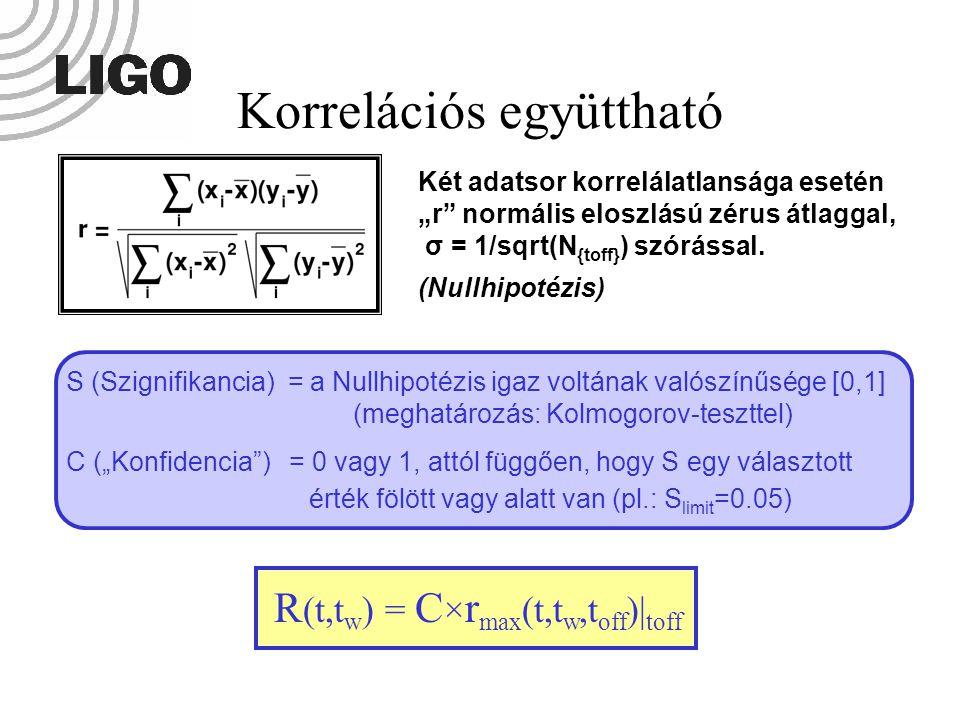 """S (Szignifikancia) = a Nullhipotézis igaz voltának valószínűsége [0,1] (meghatározás: Kolmogorov-teszttel) C (""""Konfidencia"""") = 0 vagy 1, attól függően"""