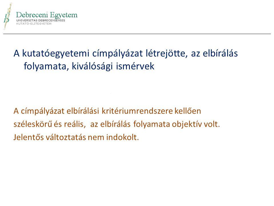 Előadás összefoglalója A jelenleg rendelkezésre álló hazai és nemzetközi egyetemi rangsorok nem nyújtanak a magyar intézményeknek objektív alapot komplex oktatási és tudományos teljesítmény összehasonlításra, legfeljebb orientációra alkalmasak.