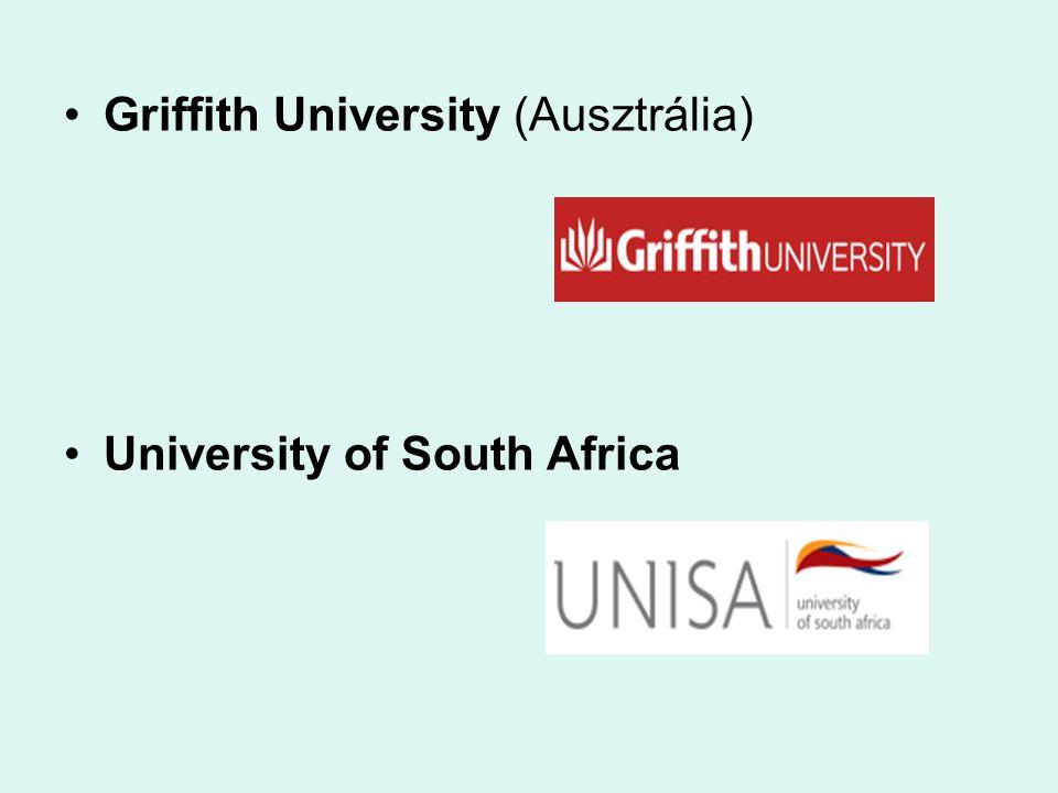 Griffith University (Ausztrália) University of South Africa
