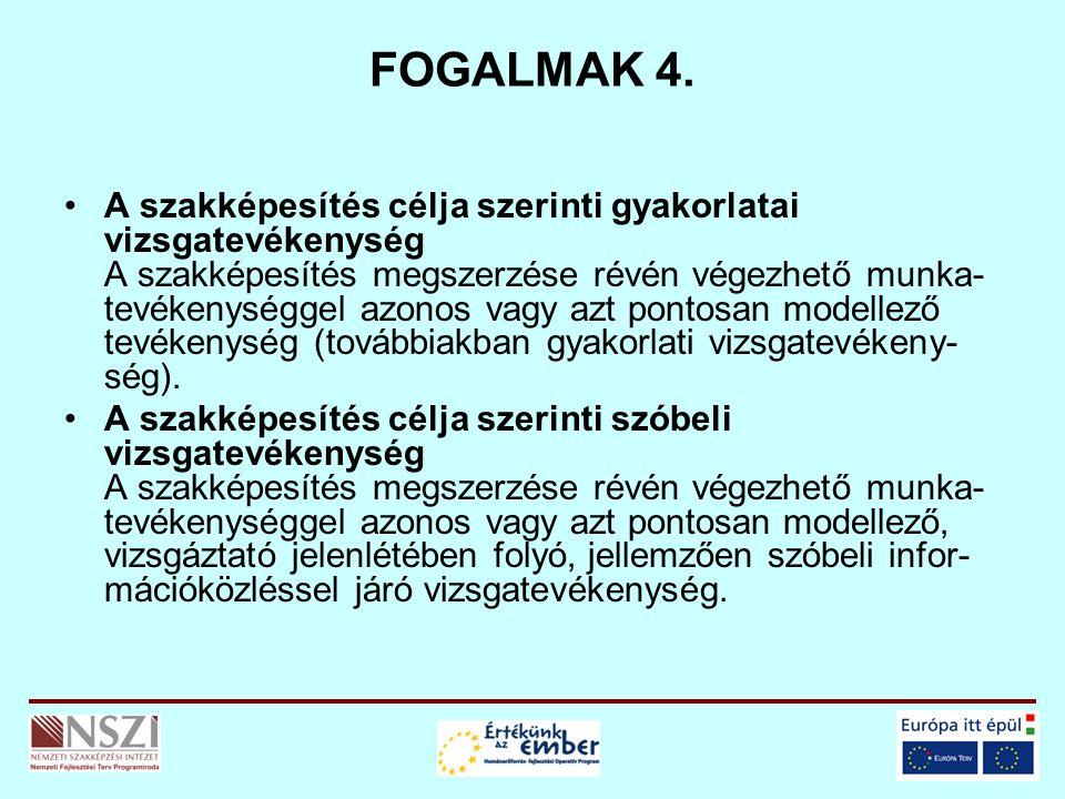 FOGALMAK 4.