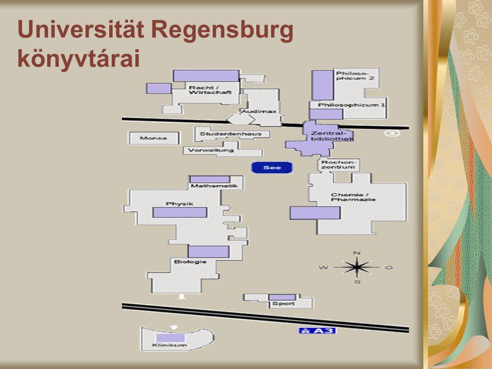 Universität Regensburg könyvtárai