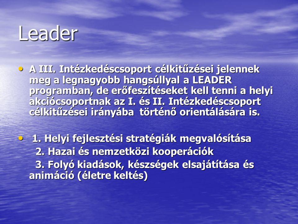 Leader A III.