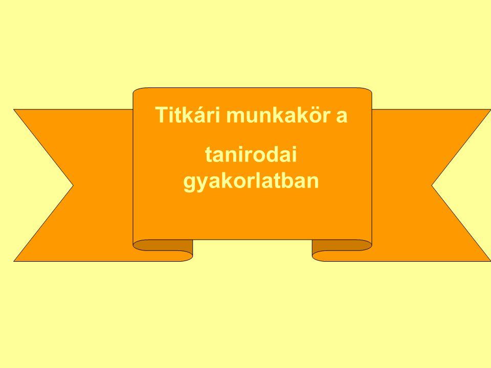 A munkakörben használt bizonylatokat megtekinthetik a http://etananyag.korosy.hu http://etananyag.korosy.hu oldalon