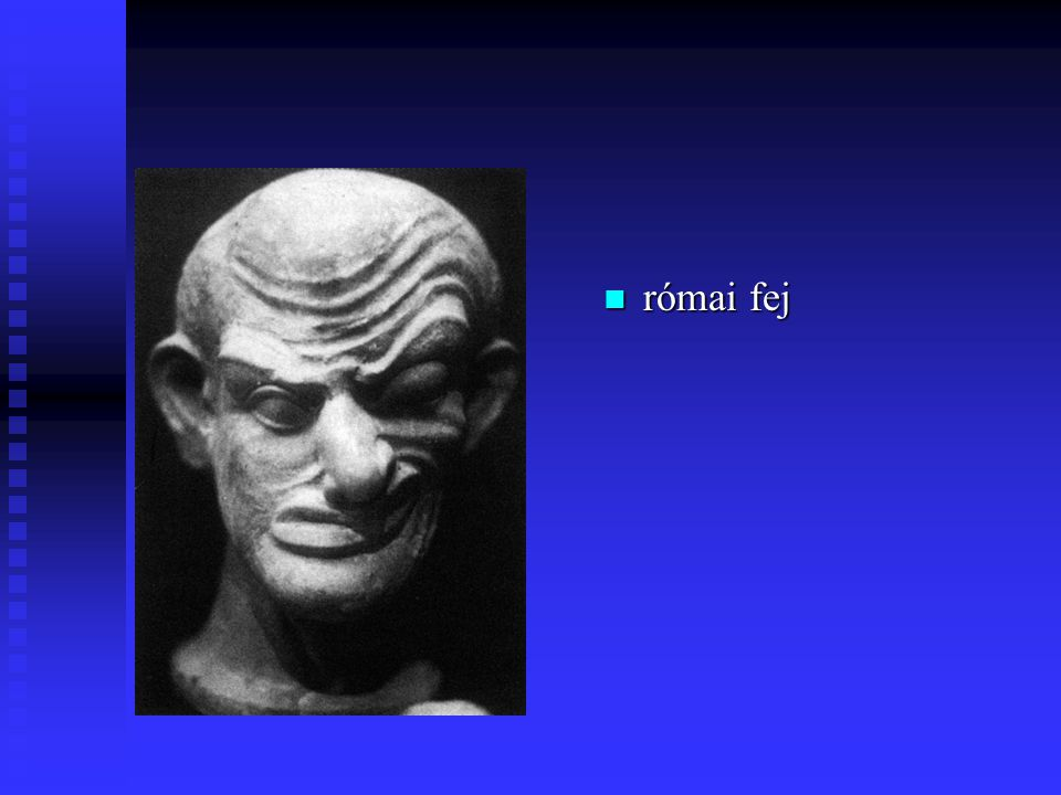 római fej
