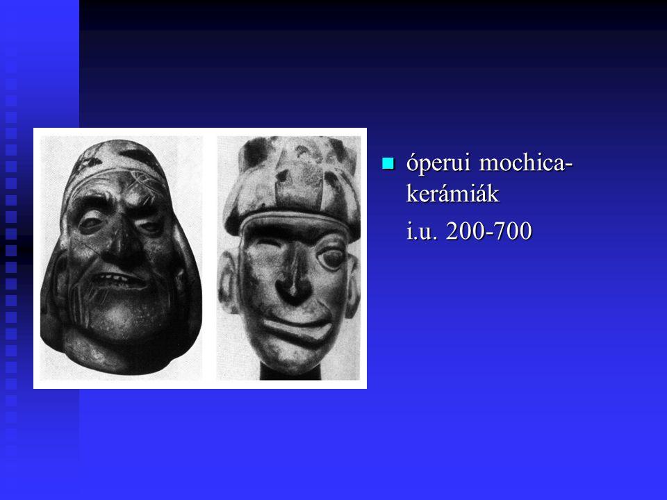 óperui mochica- kerámiák i.u. 200-700