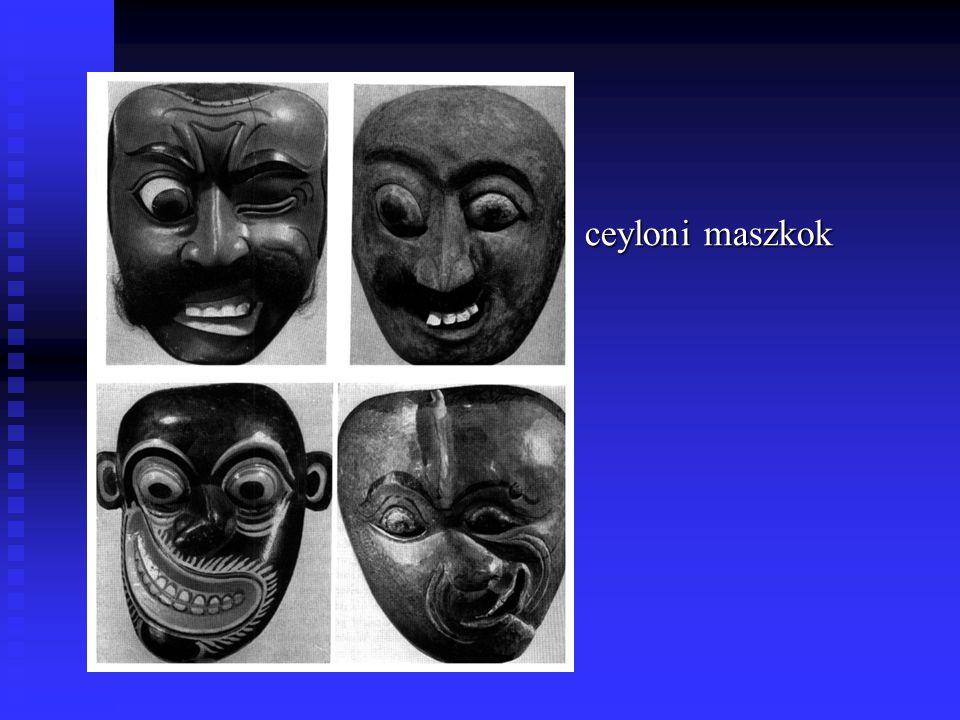 ceyloni maszkok