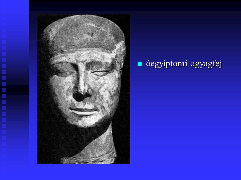 Görög szobrocska i.e. 6-7. sz. Dél-Kréta