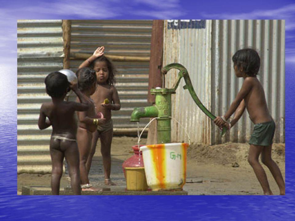 Minden 15. másodpercben meghal egy gyermek világszerte a tiszta víz, illetőleg a megfelelő higiéniai viszonyok hiánya miatt. Az ENSZ Gyermekvédelmi Al