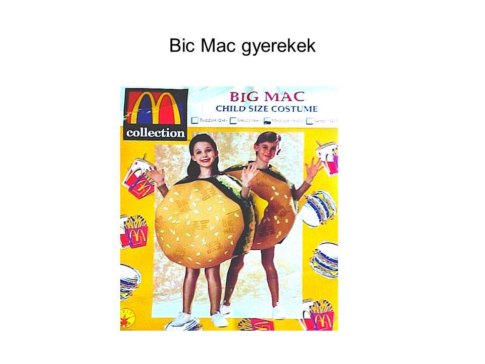 Bic Mac gyerekek