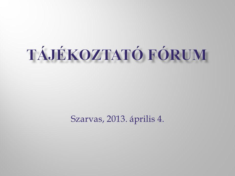 Szarvas, 2013. április 4.