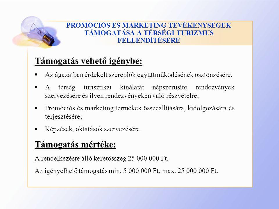FALUSI SZÁLLÁSHELYEK KIALAKÍTÁSÁNAK TÁMOGATÁSA Pályázatot nyújthatnak be:  Mikro-kis és középvállalkozások (ha 2011.