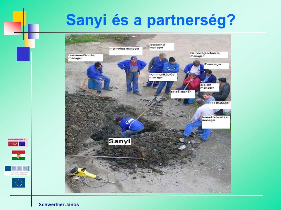 Schwertner János Sanyi és a partnerség
