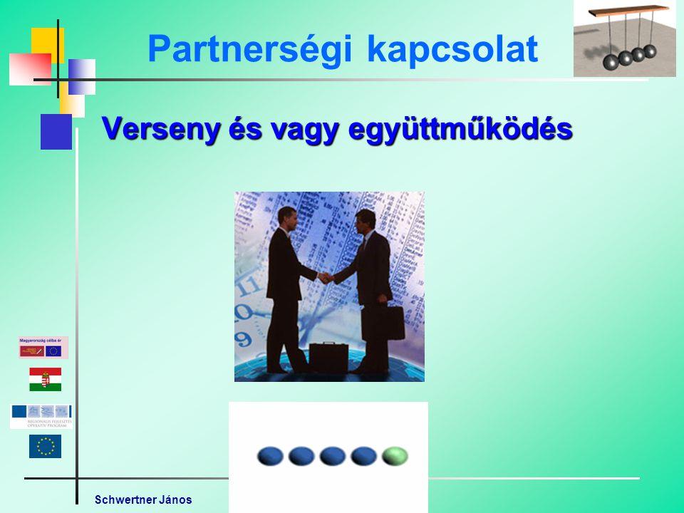 Schwertner János Partnerségi kapcsolat Verseny és vagy együttműködés