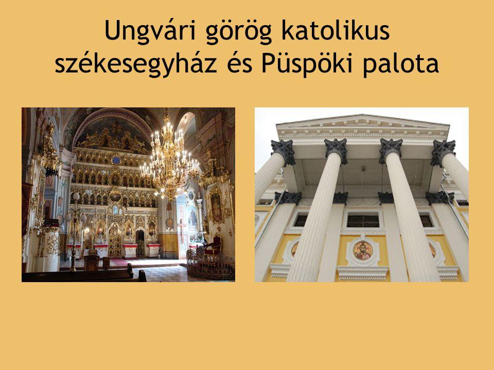 Szent György templom 1760-ban épült Háromhajós barokk stílusú templom Központi tornya és egy-egy nyolcszögletű kisebb tornya van