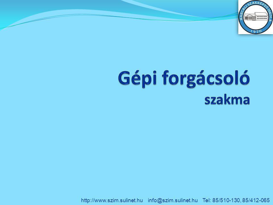 http://www.szim.sulinet.hu info@szim.sulinet.hu Tel: 85/510-130, 85/412-065